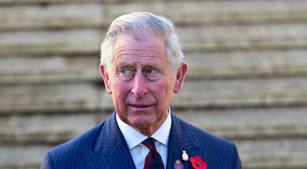 The Prince of Wales expressed his solidarity with Christians