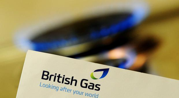 British Gas owner Centrica's profits have been cut by a reduction in household consumption