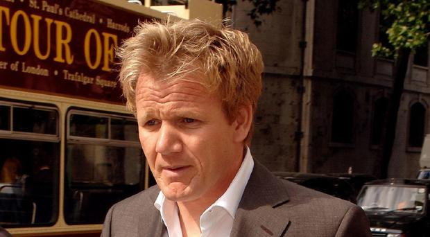 Gordon Ramsay is in dispute with his father-in-law