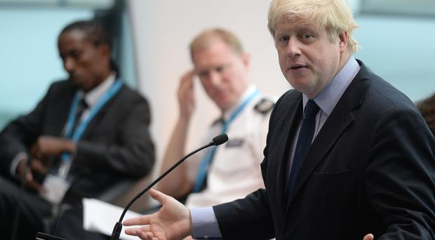 Boris Johnson is indignant over being billed by the US taxman