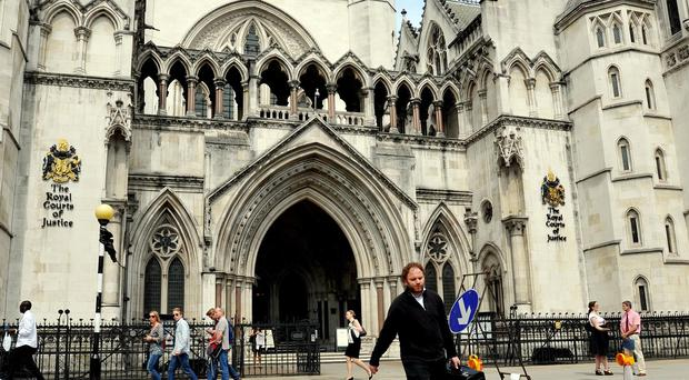 The judge said the man had been granted legal aid on an