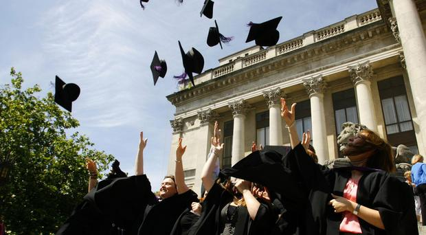 Students celebrate their graduation but many don't think they are getting value for money, according to a poll