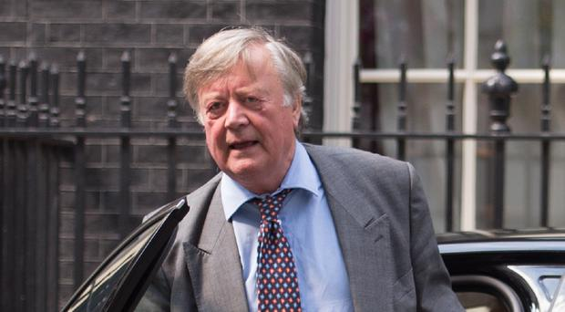 Ken Clarke said talking about the economy is
