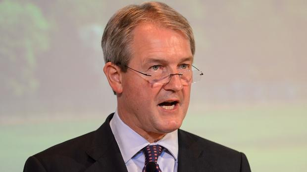 Former Secretary of State Owen Paterson