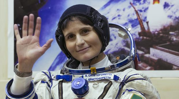 Italian astronaut Samantha Cristoforetti is a crew member of the mission to the International Space Station (AP)