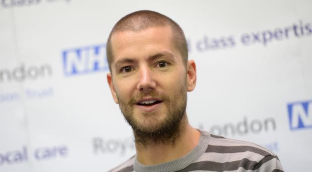 Nurse William Pooley tested positive for Ebola and was treated at the Royal Free Hospital in London