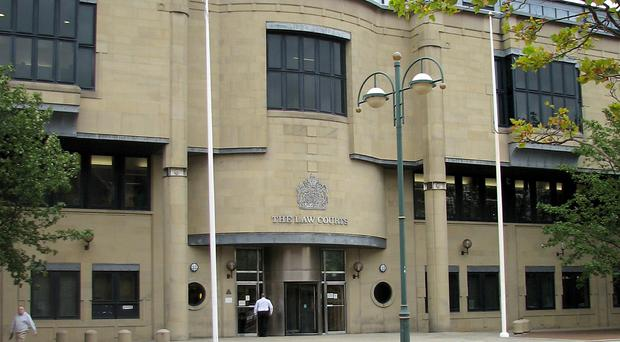 Rachael Regan and Deborah McDonald are on trial at Bradford Crown Court