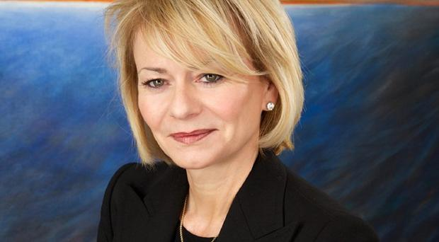 Harriet Green is stepping down as chief executive of Thomas Cook