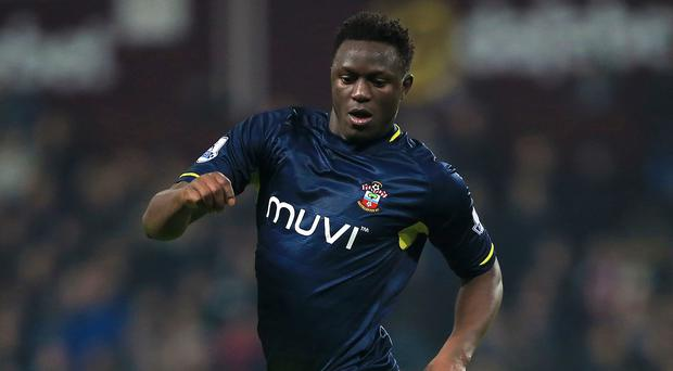 Victor Wanyama during the Premier League match at Villa Park, Birmingham