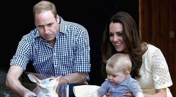 The Cambridges visited Taronga Zoo during their tour