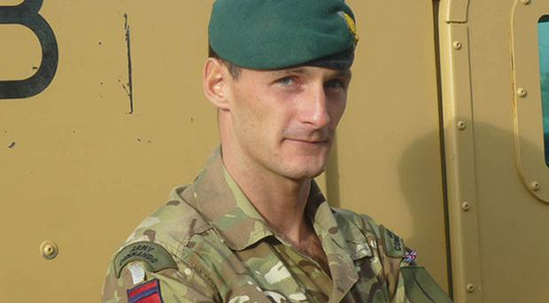 Captain Richard Holloway was killed in action on December 23 last year (MoD/PA)