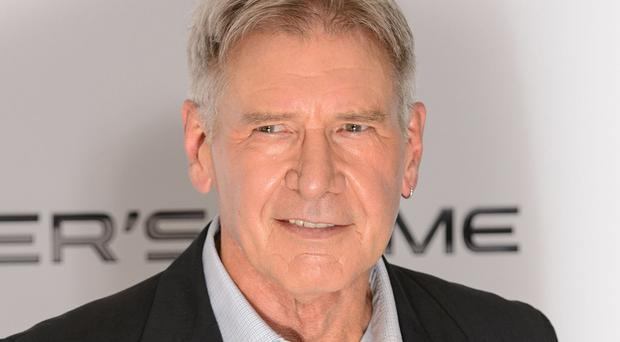 Harrison Ford reprises his role as Han Solo