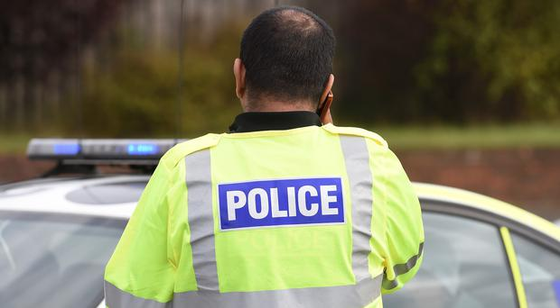 A senior policeman has tweeted about a teenage girl with mental health issues being held in police custody