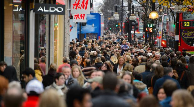 Shoppers around the country are continuing to hit the high streets following Black Friday
