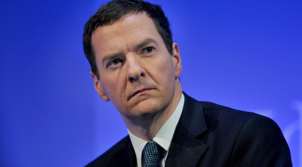 George Osborne said there could not be a strong NHS without a strong economy to pay for it