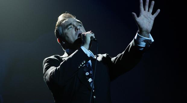Morrissey hit out at the Royal family, the government, the meat industry and his record label during his London gig