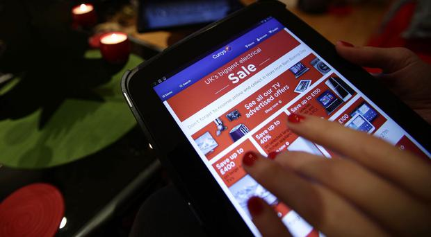 Internet shopping figures consistently peak on the first Monday in December