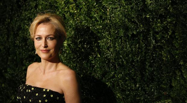 Gillian Anderson arrives at the 60th London Evening Standard Theatre Awards at the London Palladium in central London.