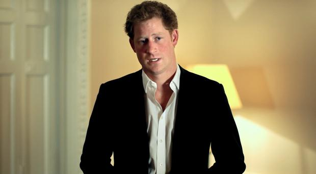 Prince Harry is set to reveal one of his secrets to help reduce stigma associated with HIV (Sentebale/PA)