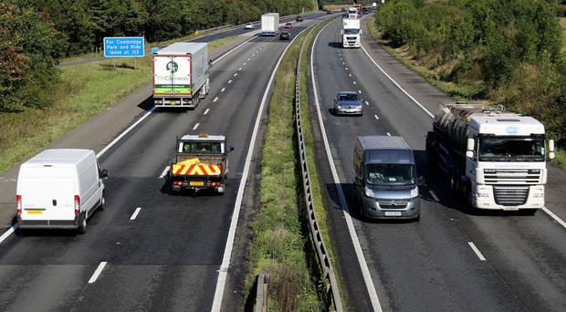 Transport Secretary Patrick McLoughlin says the roads network has suffered from under-investment