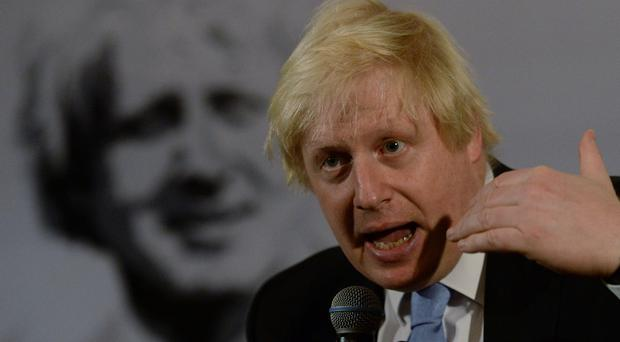 London mayor Boris Johnson is on a regional tour of Asia