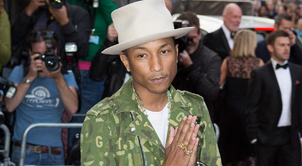 Pharrell Williams is heading to the Isle of Wight
