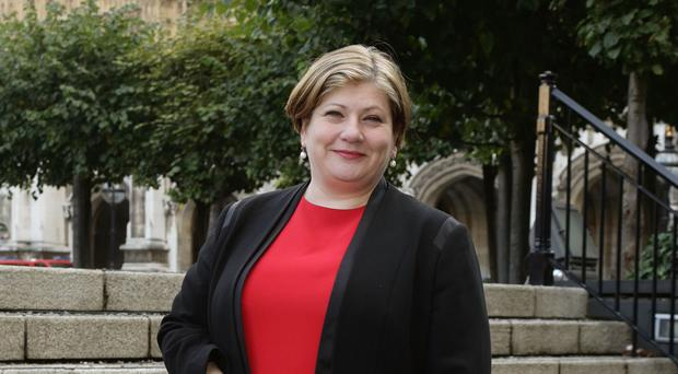 Emily Thornberry lost her shadow cabinet role after a tweet