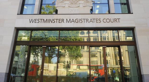 Two men were remanded in custody on terror offences when they appeared at Westminster Magistrates' Court