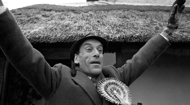 Former Liberal leader Jeremy Thorpe who has died after a long battle with Parkinson's Disease