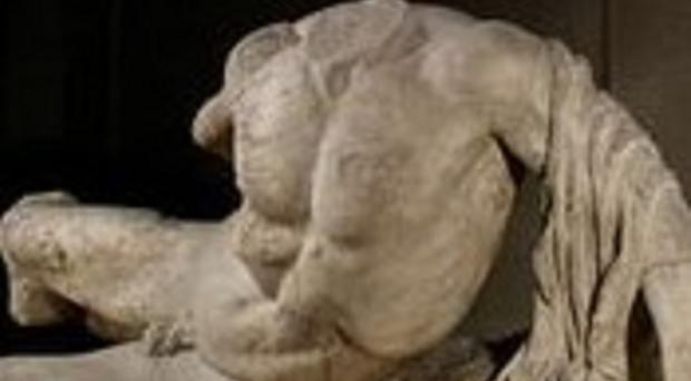 The Elgin Marbles statue of Ilissos is being loaned to Russia (British Museum/PA)