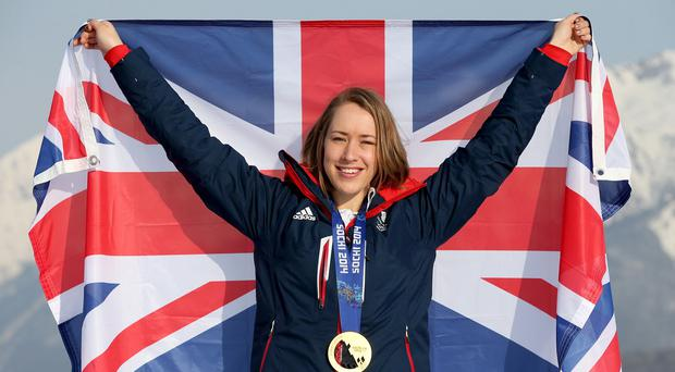 Lizzy Yarnold won a gold medal at the 2014 Sochi Olympic Games