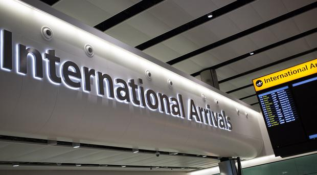 Officers from West Midlands Police's counter-terrorism unit were waiting for the pair at Heathrow Airport