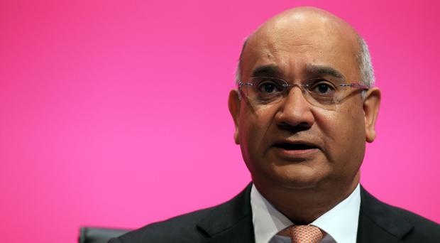 The documents were made public in a bid to support claims that a member of the Home Office's abuse panel had been bullied. Above: Keith Vaz