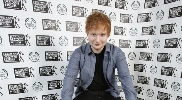 Ed Sheeran has returned to the number one spot