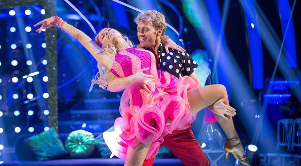 Pixie Lott has become the tenth celebrity to leave Strictly Come Dancing (BBC/PA)