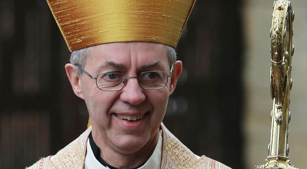 The Archbishop of Canterbury says presents from charity shops or simply showing kindness make good Christmas gifts