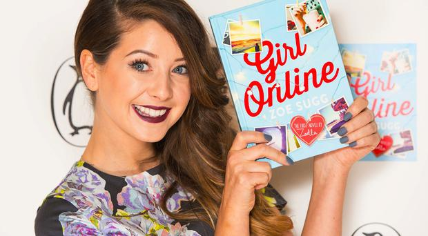 Zoe Sugg's novel Girl Online sold 78,109 copies in its first week