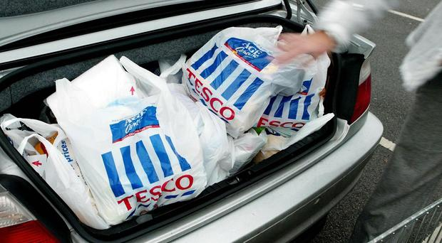Tesco has warned it is heading for a bigger-than-expected slide in annual profits