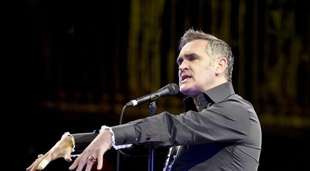 Morrissey said Christmas was not a time to be
