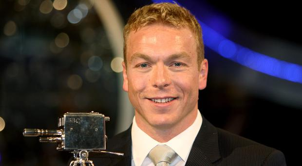 Chris Hoy was named BBC Sports Personality Of The Year in 2008