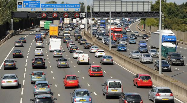 Figures show each person in England travelled on average 6,584 miles in 2013