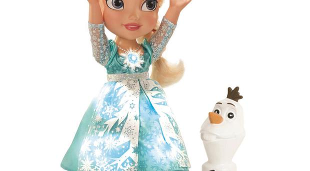 In demand: Snow Glow Elsa