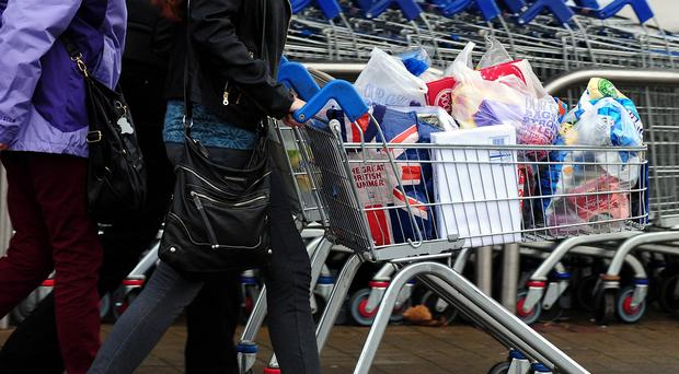 Supermarket aisles will be at peak congestion on Monday December 22, according to a survey