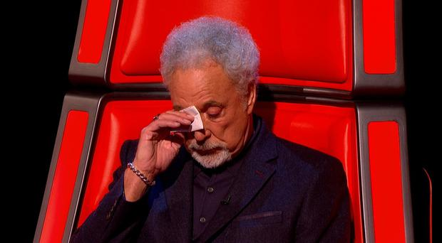 Sir Tom Jones is back in the revolving chair