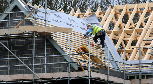 There was a 17% increase in new homes built in Northern Ireland over 2014, according to an industry body