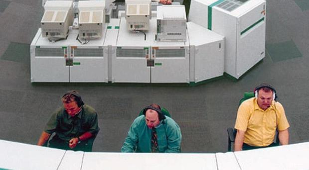 The National Air Traffic Control Centre at Swanwick in Hampshire.