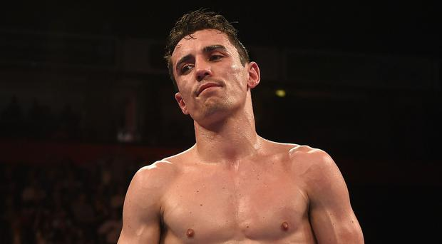 Boxer Anthony Crolla who is in hospital after confronting burglars.