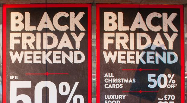 The Black Friday shopping surge meant retail sales climbed at their strongest pace for 11 months in November