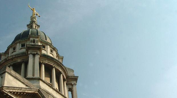 The Old Bailey, where the two men were found guilty of possessing a firearm and ammunition with intent to endanger life