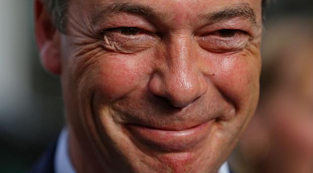 Ukip leader Nigel Farage said the former parliamentary candidate was a